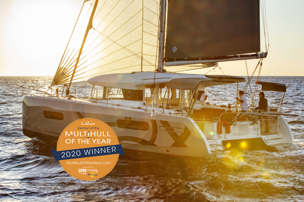 Excess 12 is THE multihull of the year 2020!