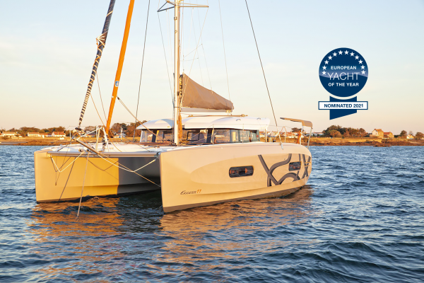 The Excess 11 is in the running to become European Yacht of the Year (EYOTY)
