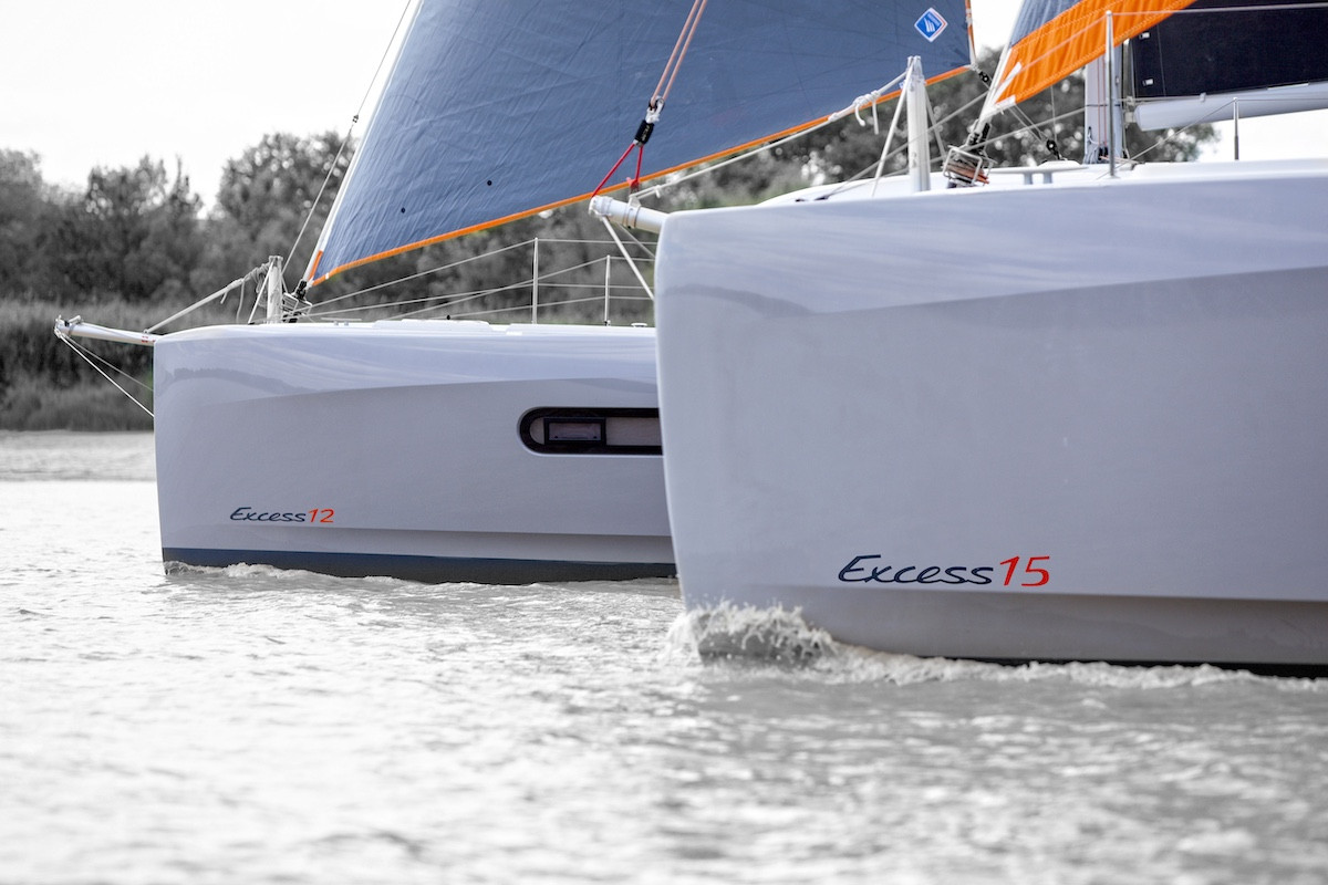 Catamarans Excess 12 and Excess 15